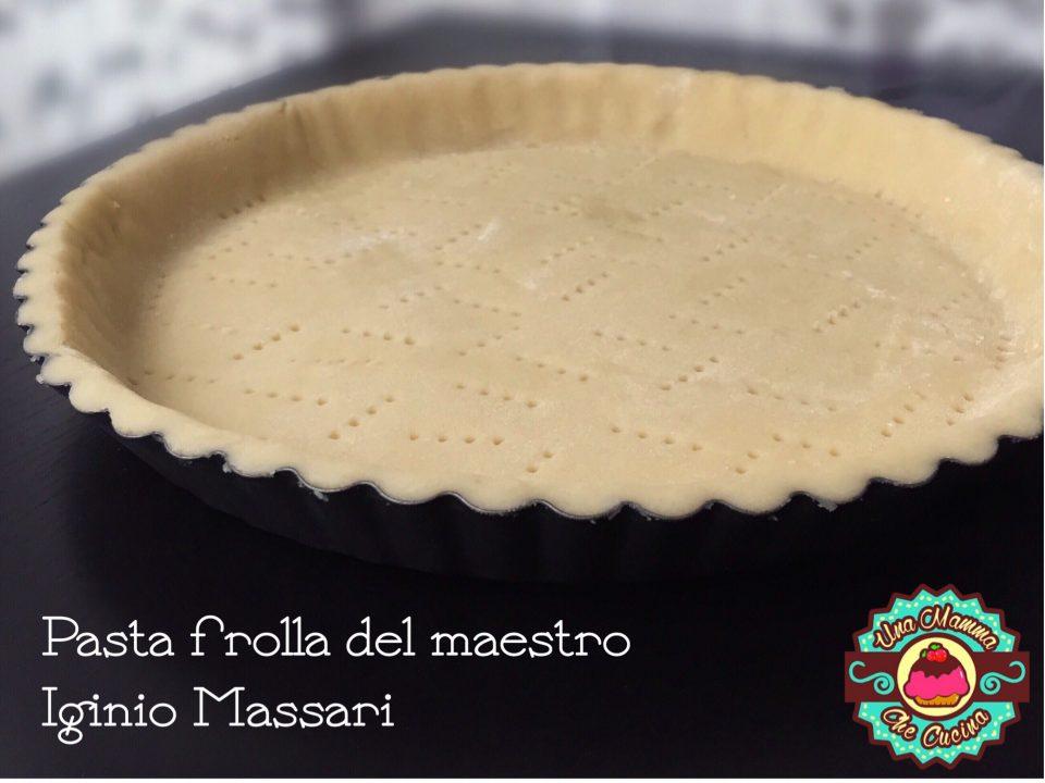 Pasta frolla - ricetta di Iginio Massari