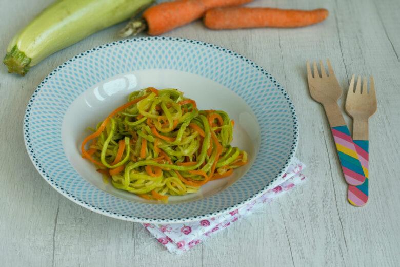 Spaghetti di Carote e Zucchine