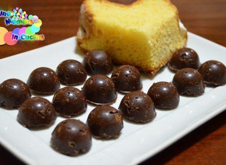 Cioccolatini al Pandoro per San Valentino