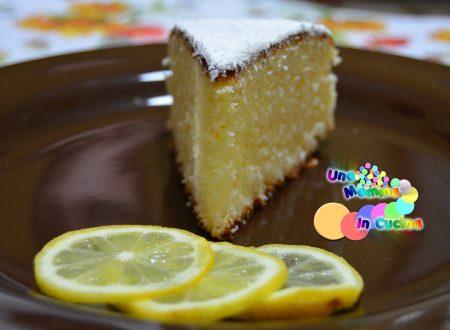 Torta al limone light e veloce