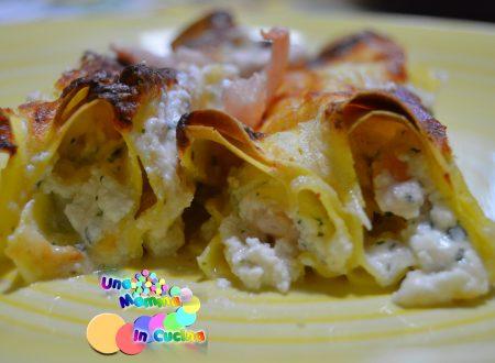 Cannelloni Light ai Gamberetti