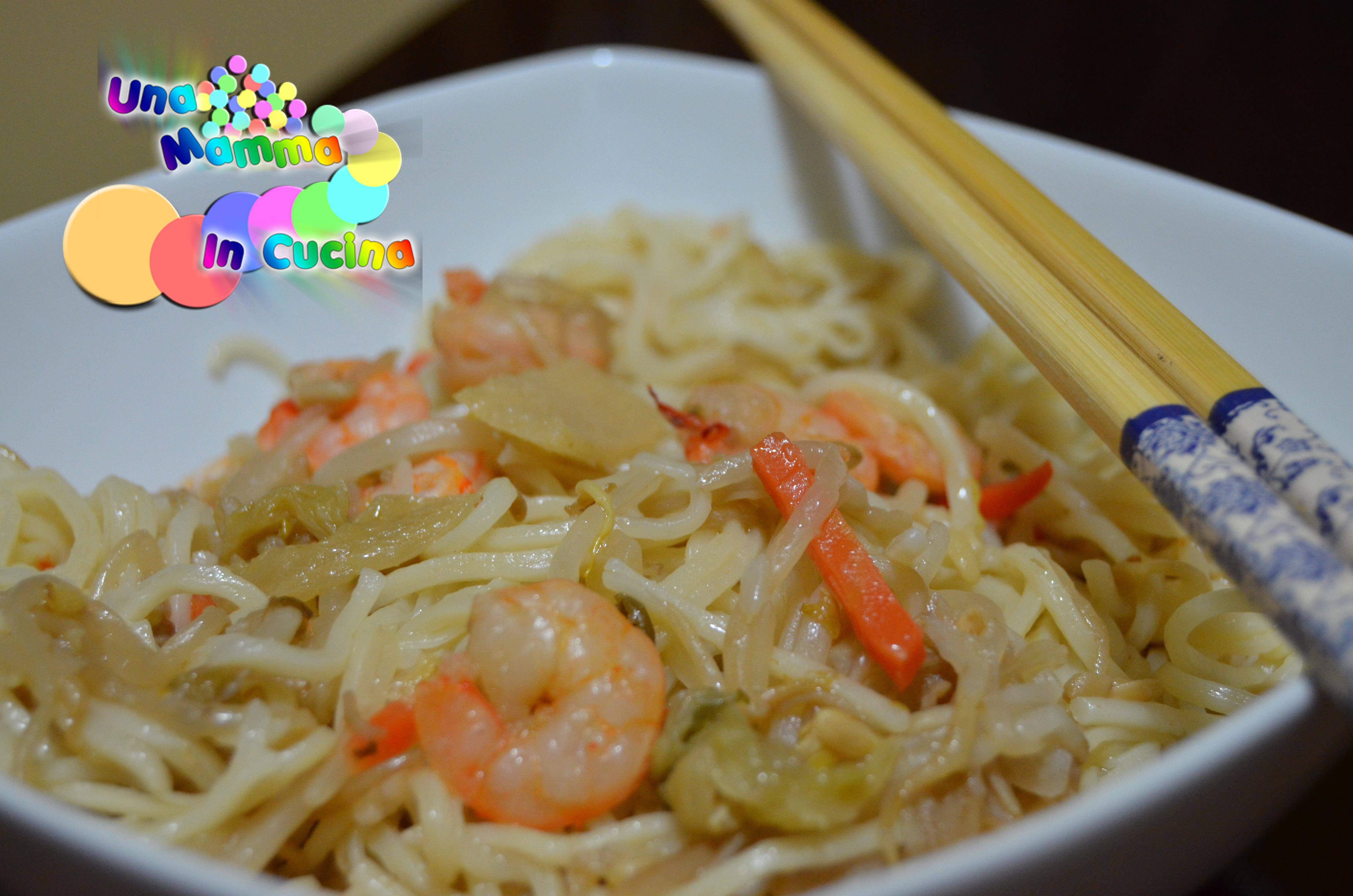 Ricerca ricette con spaghetti di riso con gamberetti for Ricette spaghetti