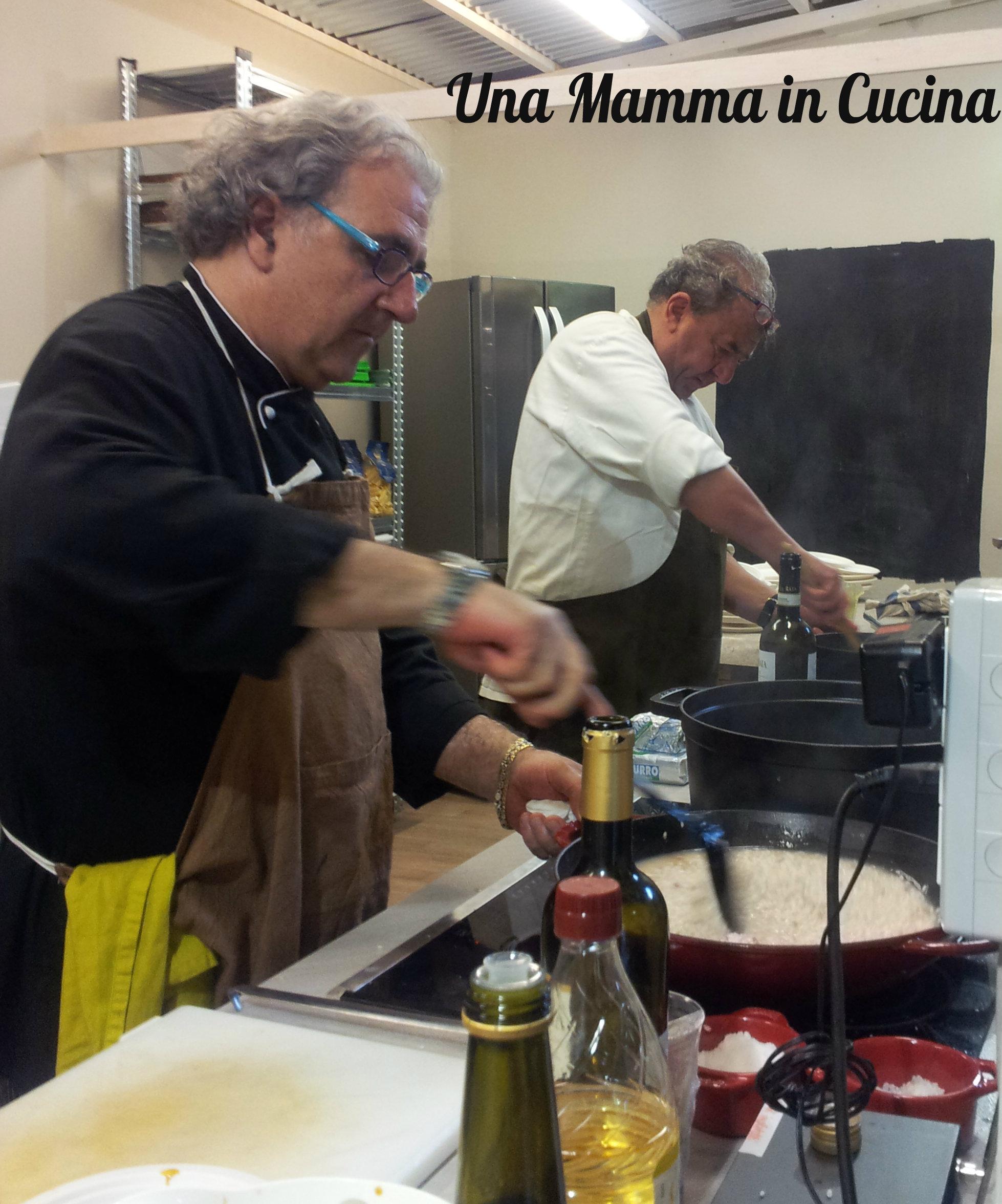Roberto e Guido ai fornelli