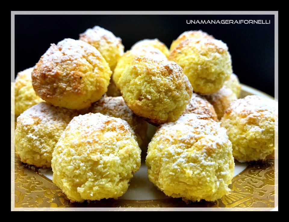 Biscottini profumati cocco e mandarino