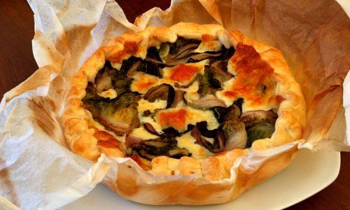 Torta Salata all'Insalata