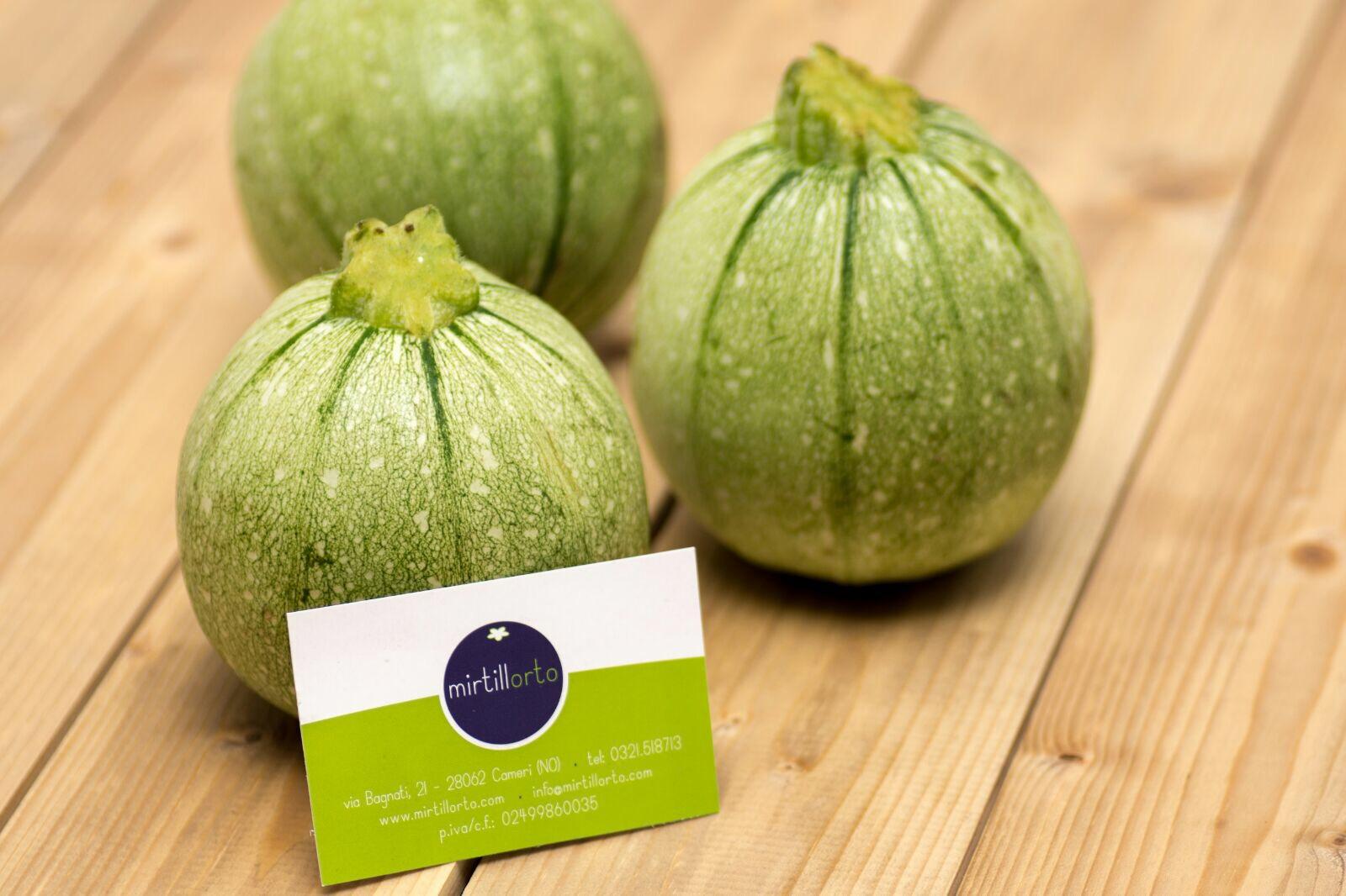 zucchine tonde del mirtillorto