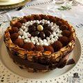 torta meringhe, cioccolato e caffè