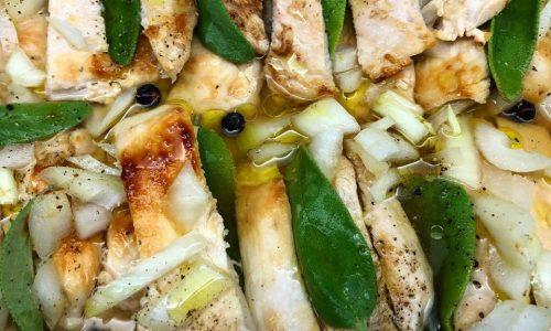 Pollo grigliato in carpione