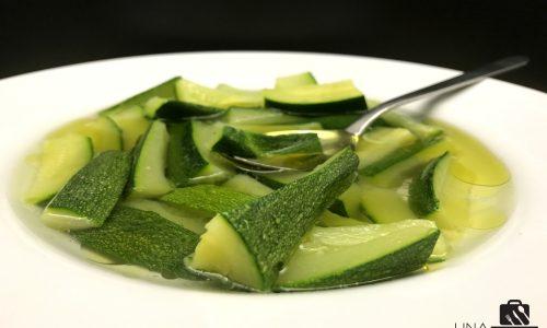 Zucchine in Brodo di Alloro