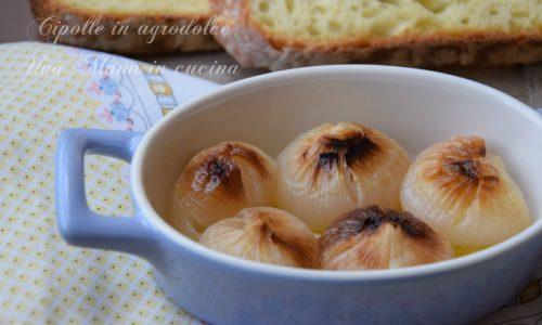 Cipolle in agrodolce al forno