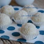 Praline cocco e cioccolato bianco