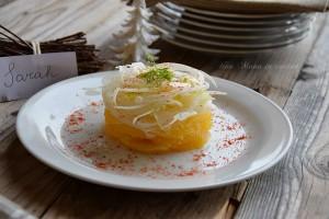 insalata di finocchi e arance al peperoncino versione natalizia