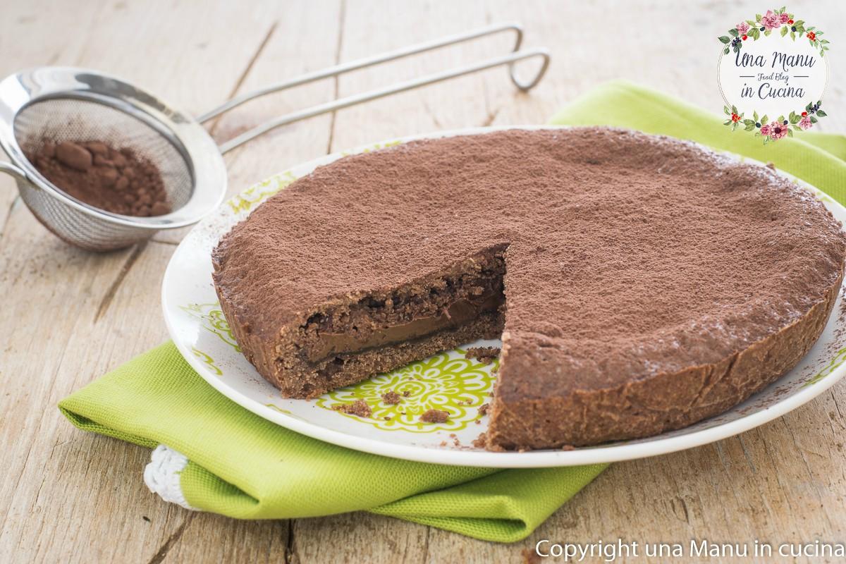 Crostata Chiusa al Cacao e Nutella