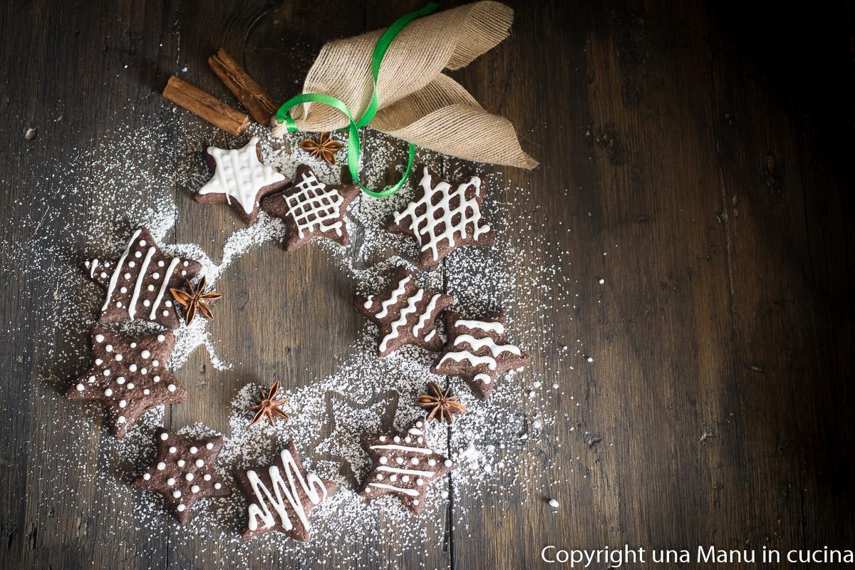 Biscotti di Natale al Cacao e Cannella