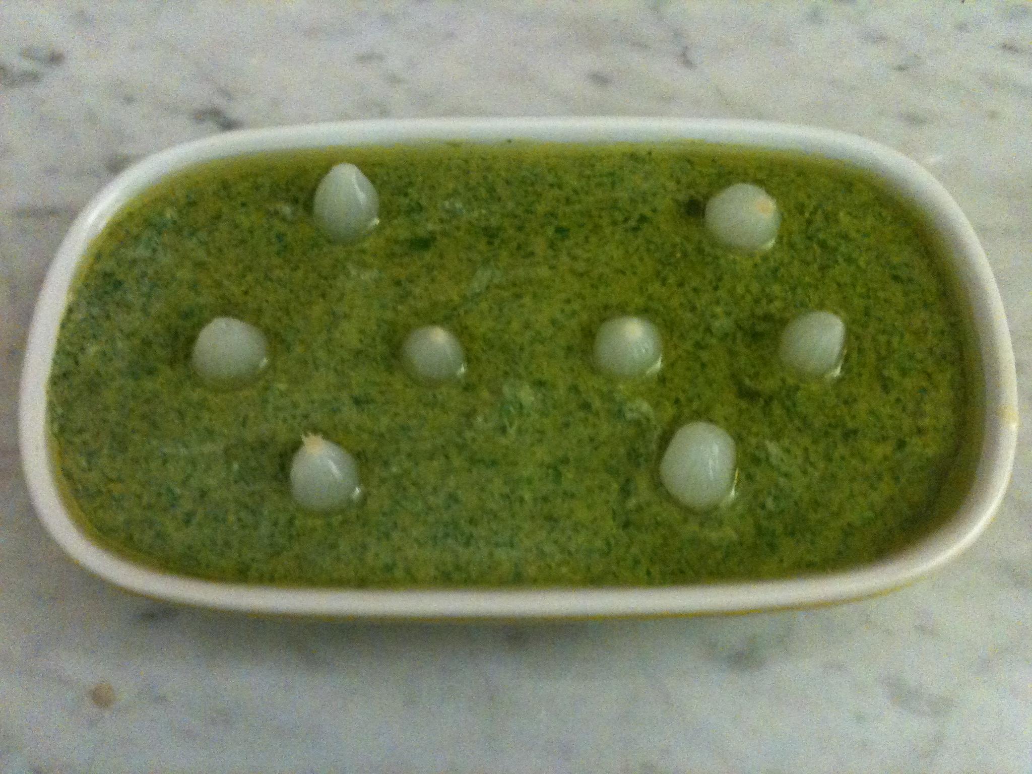 Salsa verde per bolliti e pancetta