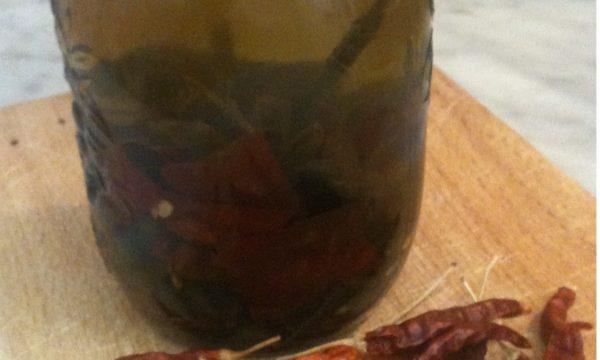 Ricetta per olio piccante