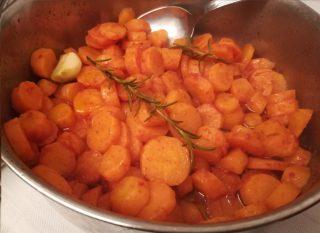 carote marinate al tegame