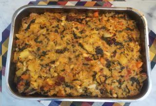 minestra di pane ricetta Toscana pronta per essere servita