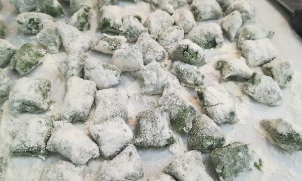 Gnocchetti di spinaci ricetta base