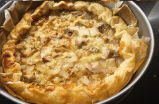 torta rustica pere e gorgonzola