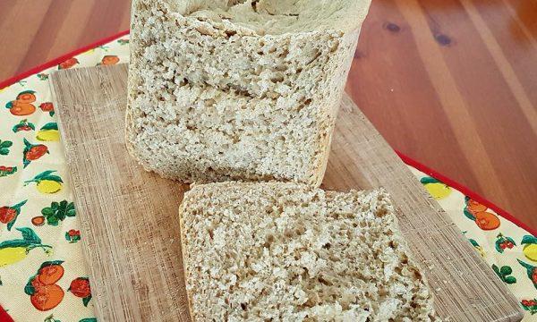 Pane con farina d'avena integrale