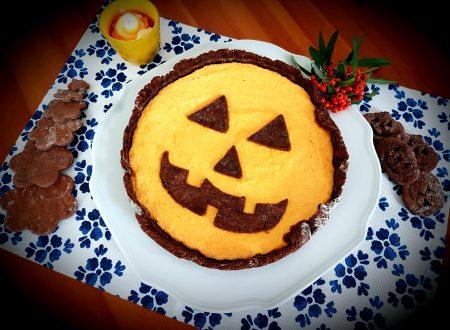 Crostata spaventosa di Halloween