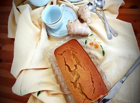 Plumcake allo zenzero senza glutine e lattosio