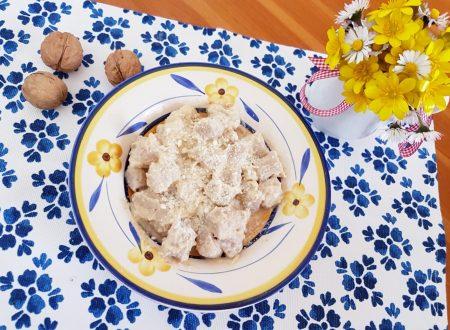 Gnocchi alla crema di carciofi e noci