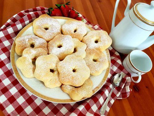 Ciambelle al forno senza zucchero e senza lattosio