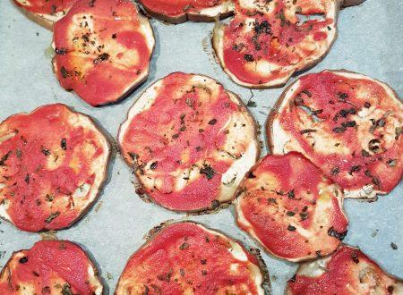 Melanzane al forno alla pizzaiola