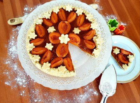 Crostata alle albicocche e marmellata