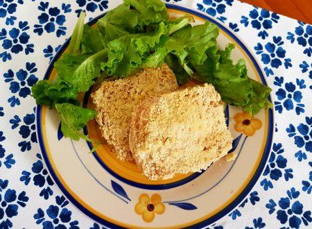 Mozzarella in carrozza leggera al forno