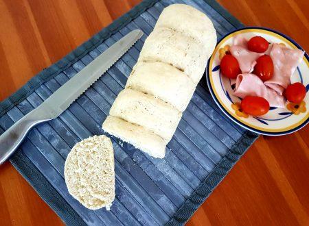 Pane bianco con aggiunta di inulina