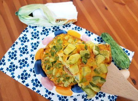 Frittata al mais e zucchine al forno