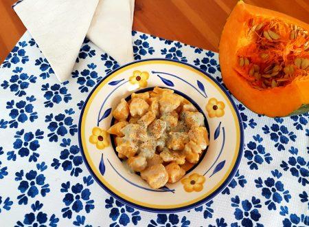 Gnocchi di zucca al gorgonzola