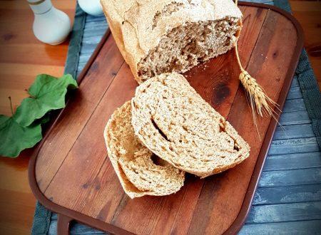 Pane con farina integrale e di legumi