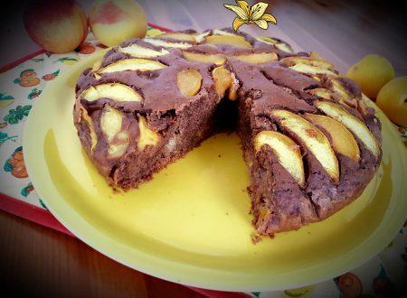 Torta alla frutta e cacao senza zucchero