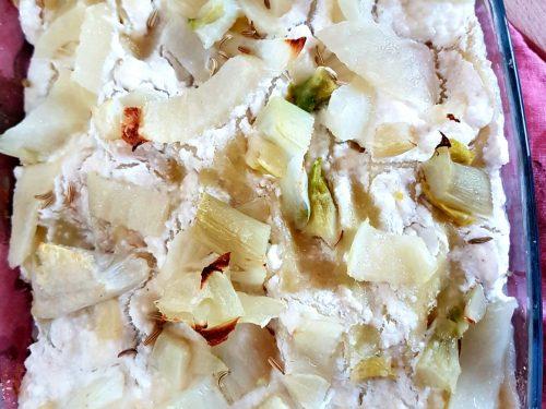 Lasagne bianche ai finocchi e ricotta