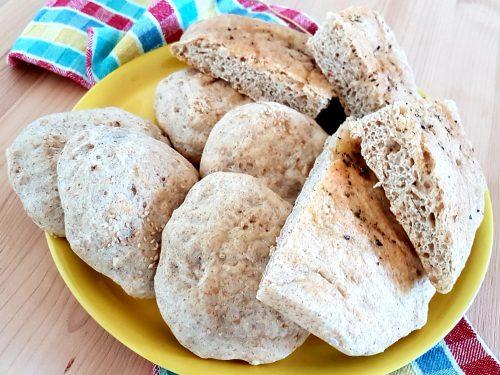 Focaccia e panini morbidi semintegrali