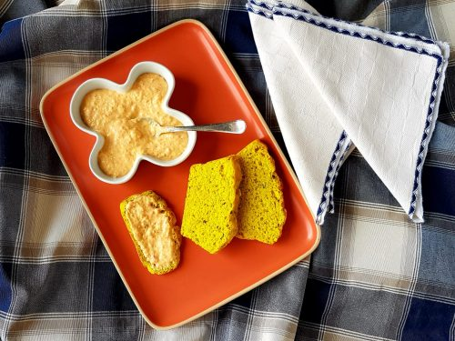 Crema di peperoni arrosto e feta
