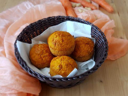Tortine alle carote e arachidi senza zucchero
