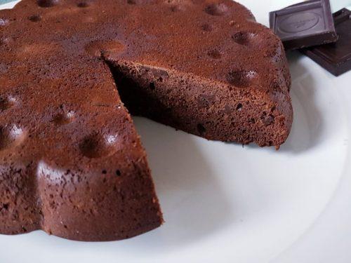 Torta venere nera al cioccolato