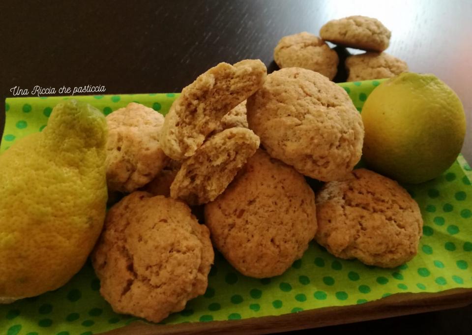 biscotti integrali al limoncello