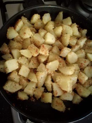 patate sabbiose appena cotte
