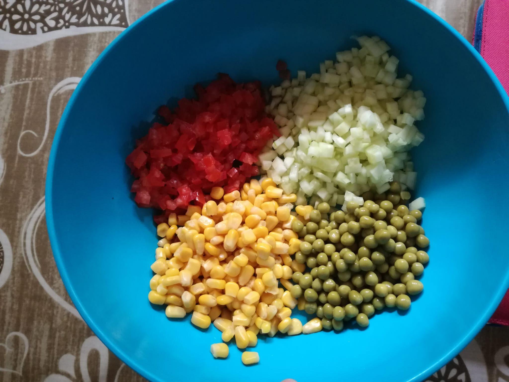 cous cous estivo verdure