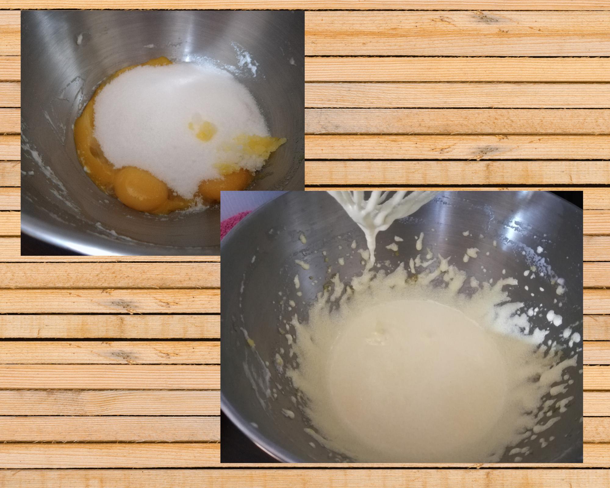 torta soffice uova