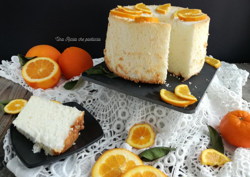 angel cake all'arancia