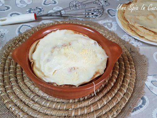 Crepes ai 4 formaggi