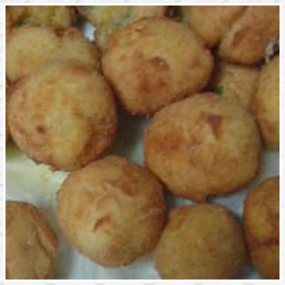 bombe di patate fritte