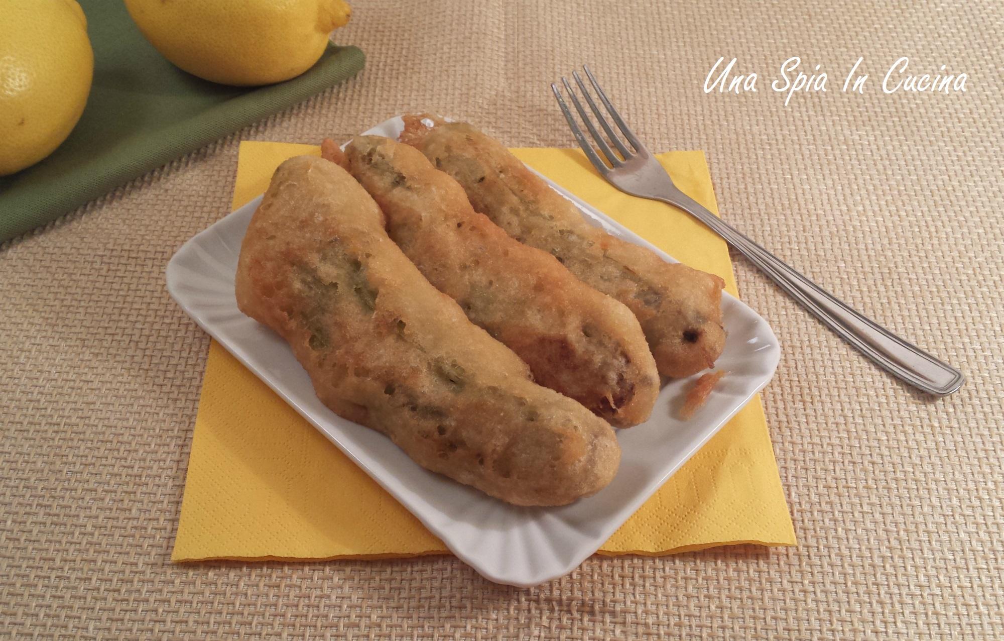 Cardi in pastella carduna a pastetta una spia in cucina - Cucinare i cardi ...